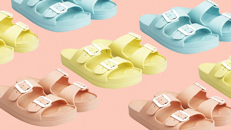 This Local Brand's Chunky Pastel Sandals Are So Perfect For Summer