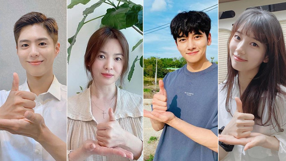 Here's Why All Your Favorite K-drama Stars Are Doing This Pose On Instagram