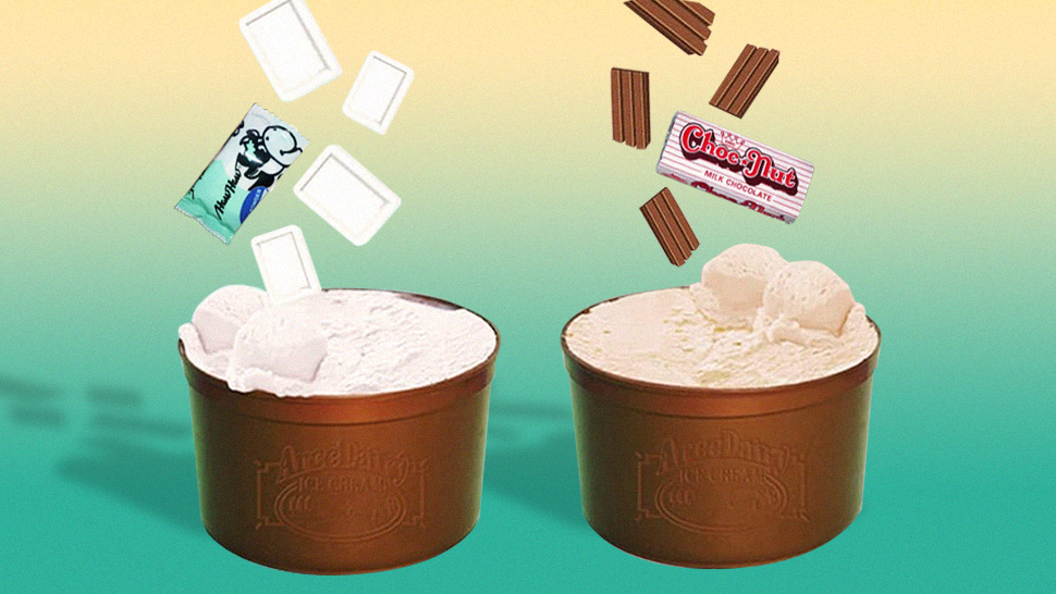 Haw Haw and Choc Nut Ice Cream Tubs Exist and They're Available for Delivery