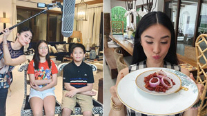 Chiz Escudero's Kids Treated Heart Evangelista To A Touching Mother's Day Lunch