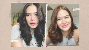 Bela Padilla Cut And Colored Her Own Hair And Here's How She Did It