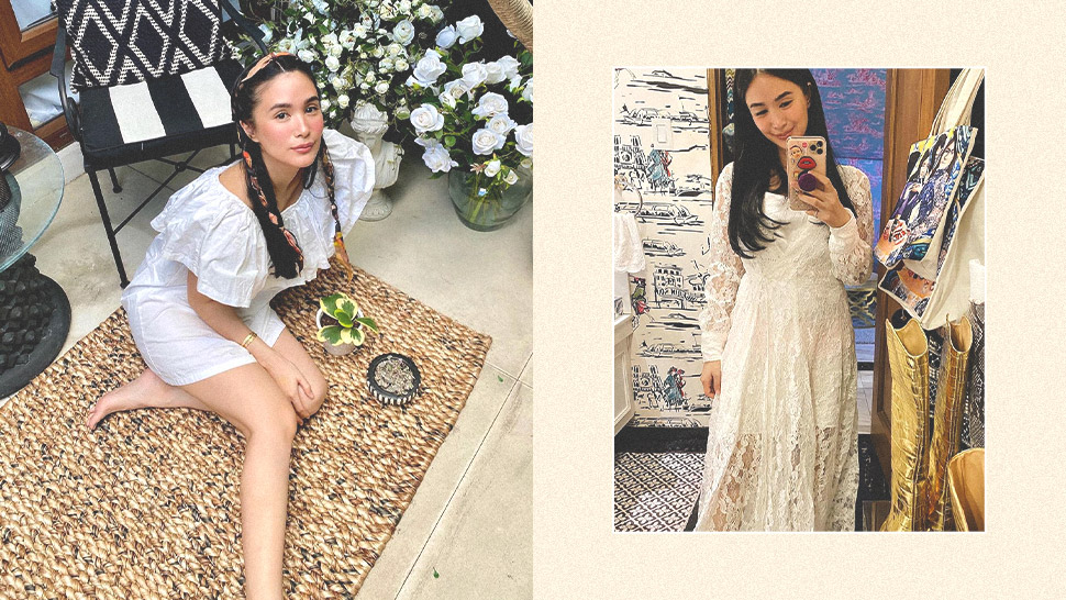 "The White Dress Is Officially Heart Evangelista's Version Of A ""duster"""