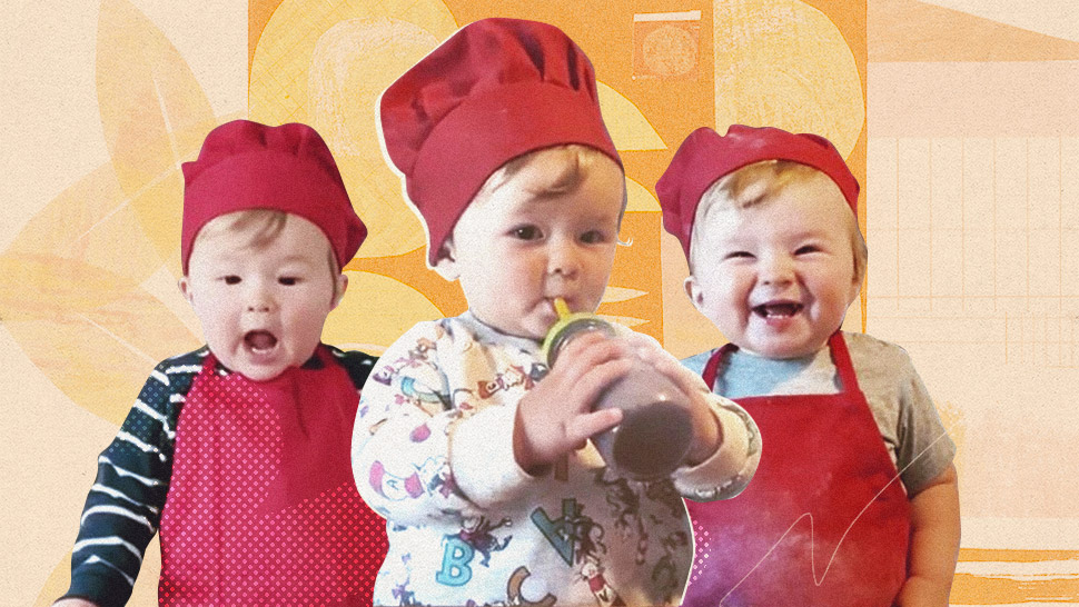 This 1-Year-Old Chef Is Taking Over the Internet with His Adorable Cooking Videos