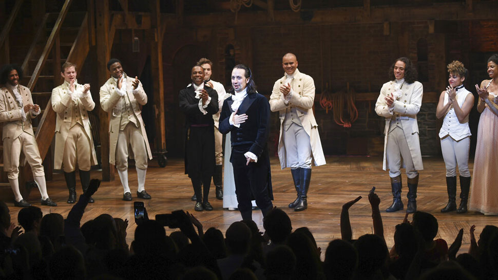 """""""Hamilton"""" Film to be Streamed Instead of Released at Theaters"""