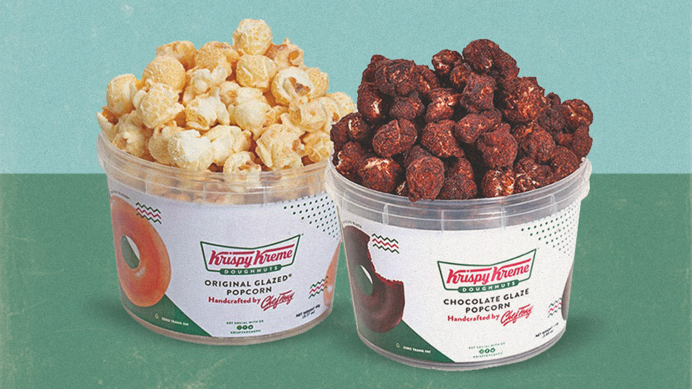 Krispy Kreme Popcorn Exists, and Here's Where to Get It!
