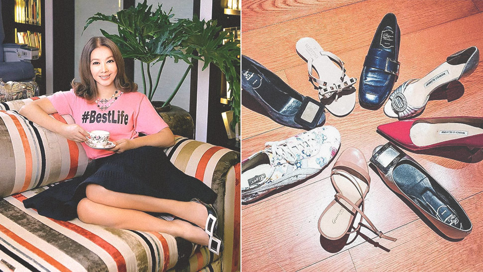 Here's a Glimpse of Korina Sanchez's Designer Shoe Collection