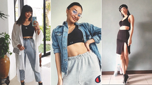 5 Cool Ways To Style A Sports Bra, According To Influencers