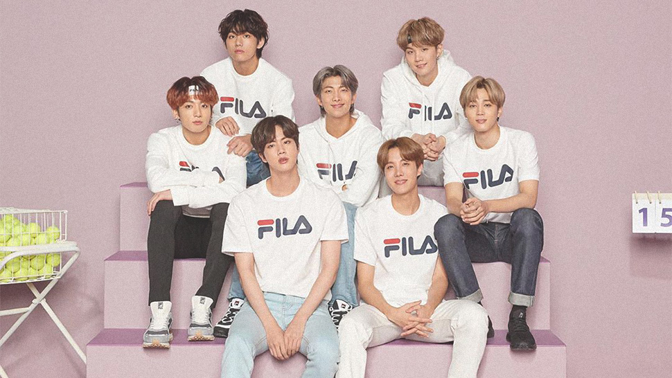 FILA X BTS Collection Will Be Available for Pre-Order This Month
