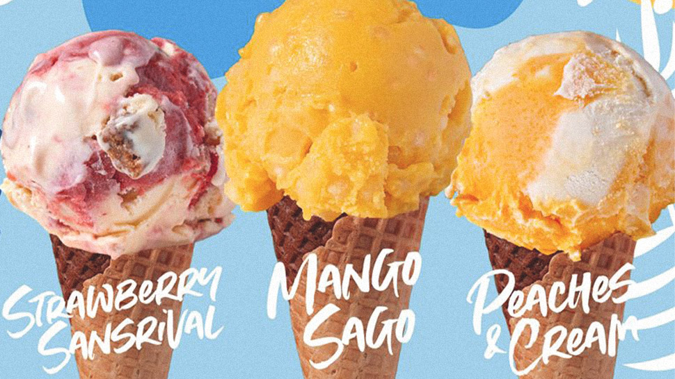 Mango Sago And Strawberry Sansrival Ice Cream? We're In!