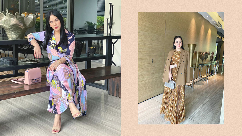 Jinkee Pacquiao Loves the Dress + Designer Bag OOTD Combo and We Totally Get Why