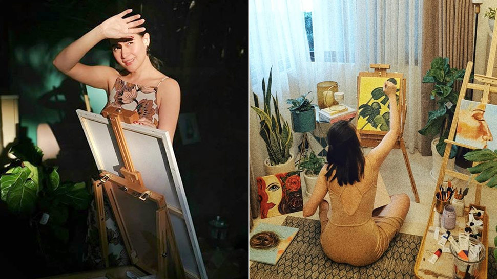 Bea Alonzo Explores the Joy of Painting While in Quarantine