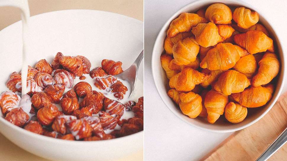 """Croissant Cereal"" Is the Latest Breakfast Trend and It Looks Strangely Delicious"