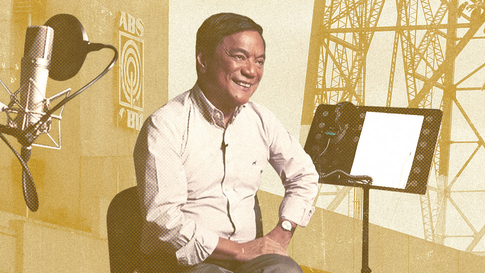 "This Man Owns the ""Golden Voice"" You've Been Hearing on ABS-CBN for 30 Years"