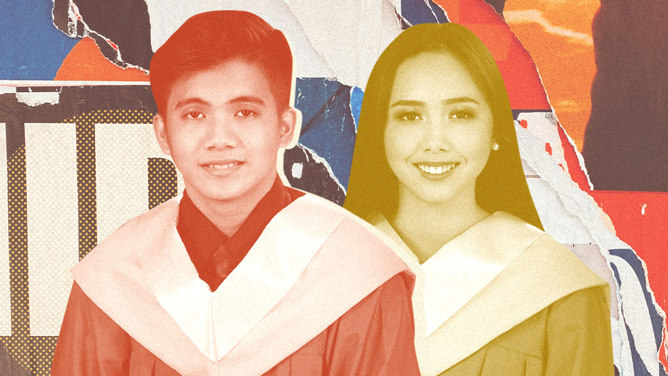 "We're Not Kidding: These Fresh Grad Twins Are Named ""Jollibee"" and ""McDonald"""