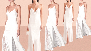 10 Elegant Slip Dresses That Every Chill Bride Should Consider