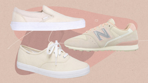 7 Neutral Beige Sneakers You Can Wear With Almost Anything In Your Closet