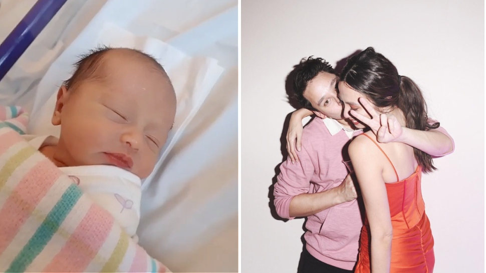 Martine Ho Just Gave Birth To Her Beautiful Baby Girl