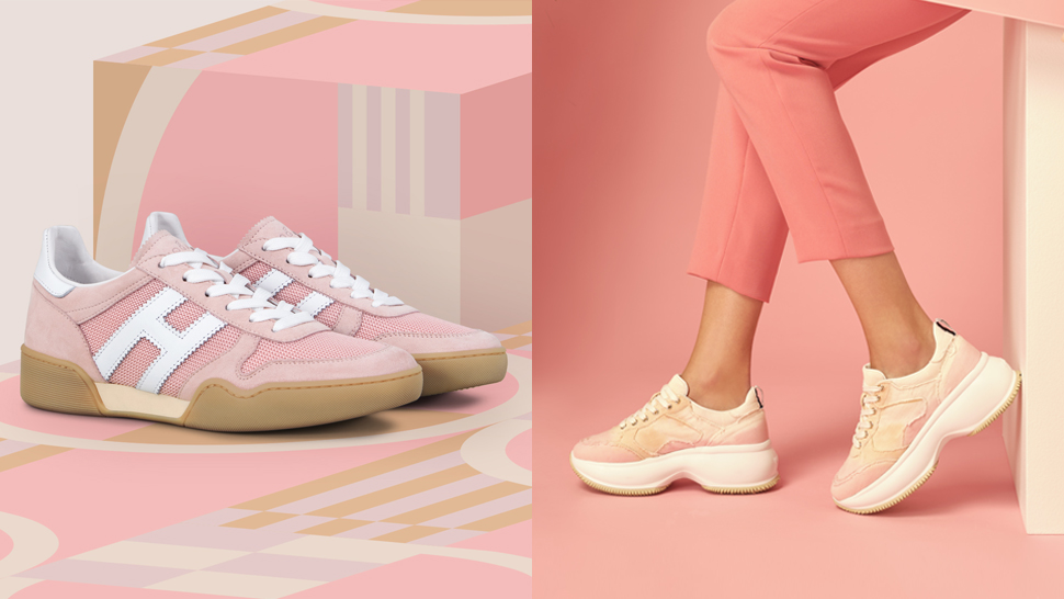 Love Pink and White? Then Add These Pastel Sneakers to Your Collection
