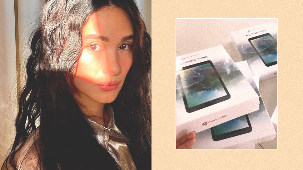Heart Evangelista Gives Away Tablets for Students in Need