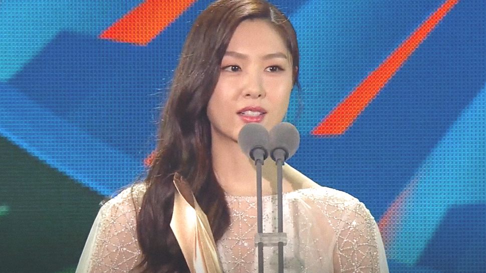"Seo Ji Hye Just Won ""Bazaar Fashion Icon Award"" at the 56th Baeksang Arts Awards"