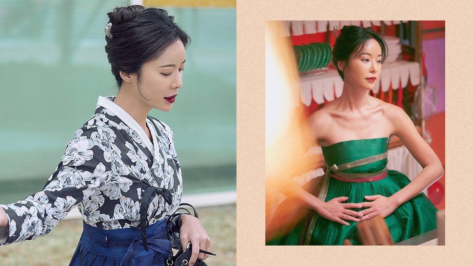 "We Are Obsessed With The Modern Hanboks Worn By Hwang Jung Eum In ""mystic Pop-up Bar"""