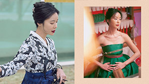 We Are Obsessed With The Modern Hanboks Worn By Hwang Jung Eum In