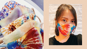 You'll Love This Local Brand's Cool Tie Dye Face Masks