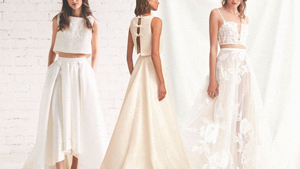 16 Two-piece Bridal Looks That Might Just Be Better Than A Ball Gown