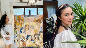 Heart Evangelista Just Sold Her Painting To Buy Tablets For Students In Need