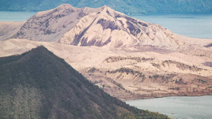 Taal Volcano Finally Shows Signs Of Greenery Five Months After Its Eruption