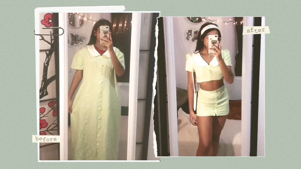 5 Thrift Flip Tiktoks Will Inspire You To Diy Your Own Clothes