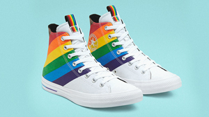 These Classic Converse Sneakers Get A Rainbow Makeover For Pride Month