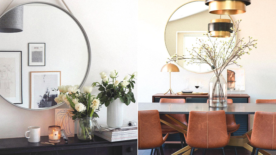 All the Best Spots to Put a Mirror to Make Your Small Space Look Bigger