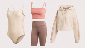 Obsessed With Neutrals? Then You'll Love These Rosy Athleisure Pieces From Adidas