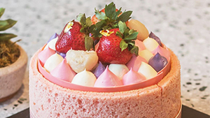 This Instagrammable Strawberry Cake Is Perfect For Your Upcoming Celebrations