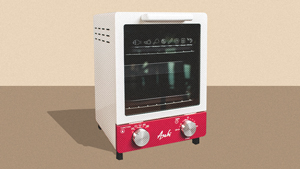 This Cute Mini Oven Allows You To Do Everything From Your Kitchen Countertop