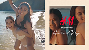 Nadine Lustre And Maja Salvador Star In H&m's Latest Swimwear Campaign