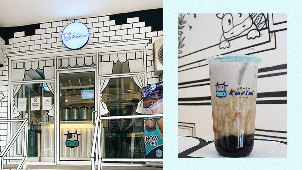 Nope, It's Not Korea's Famous 2d Cafe—this Milk Tea Shop Is Located Here In Manila!
