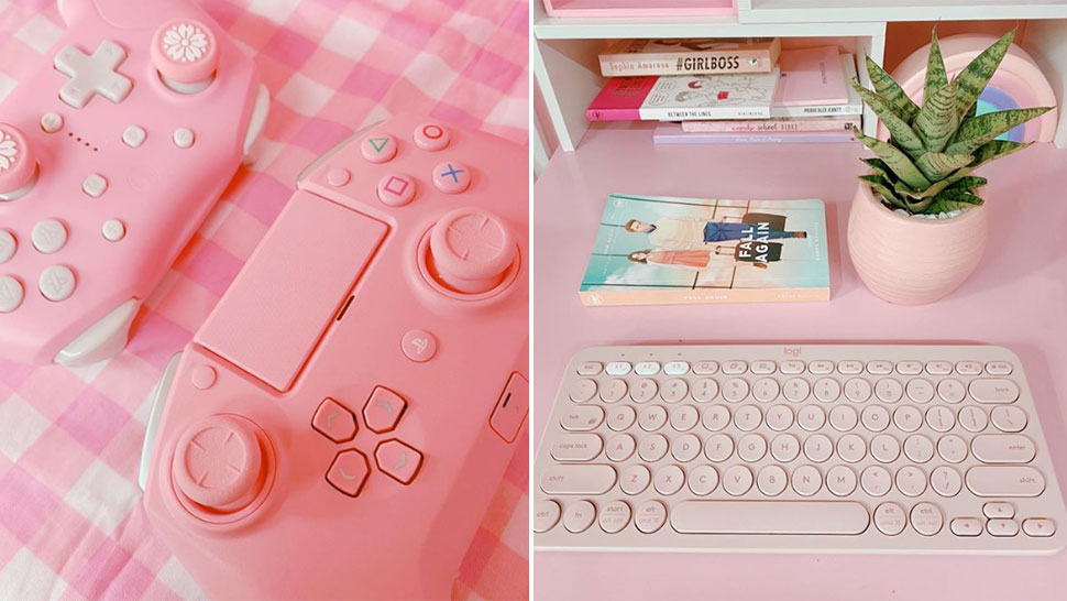 This Cool Online Shop Sells All-Pink Gadgets and Gaming Accessories