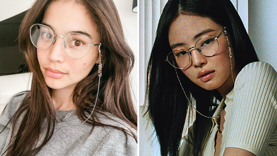 Anne Curtis Has the Exact Silver Specs Owned by Jennie of BLACKPINK and We're So Jealous