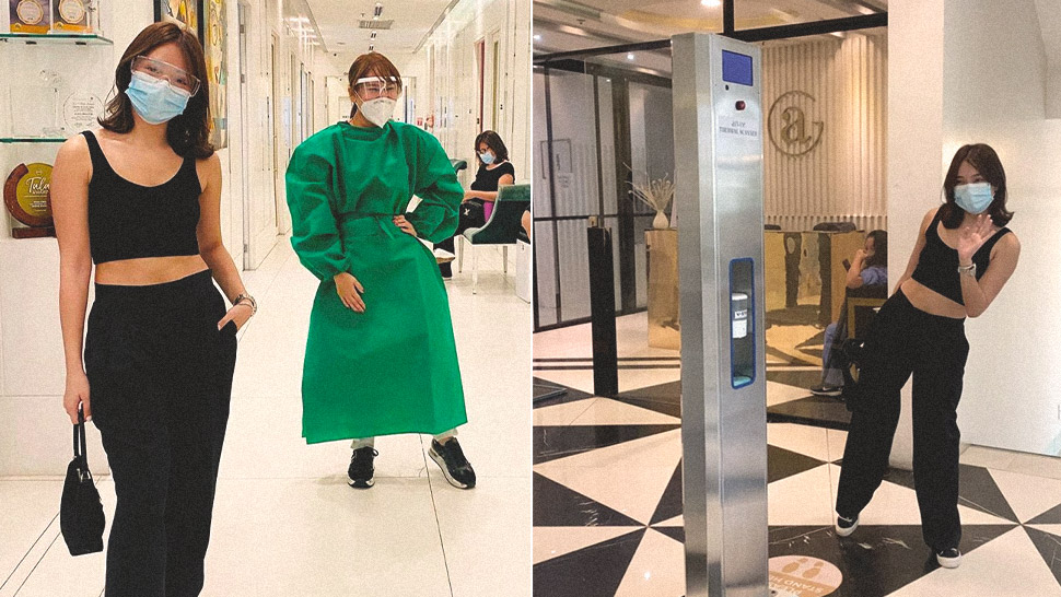 Kathryn Bernardo's First Time Out in 3 Months Was to Visit a Skin Clinic