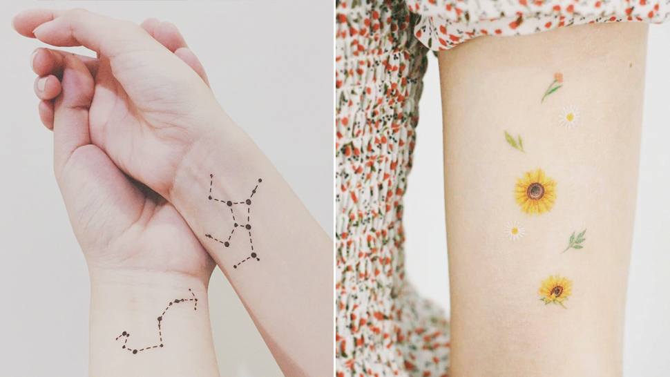 Where To Buy Cool Temporary Tattoos If You're Not Yet Ready For The Real Deal