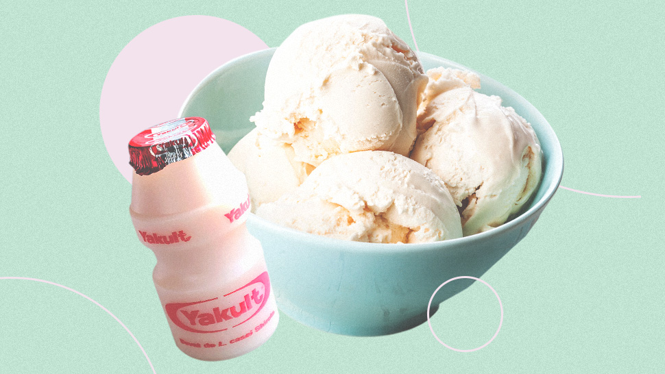 Here's How You Can Make Yakult Ice Cream With Only 2 Ingredients