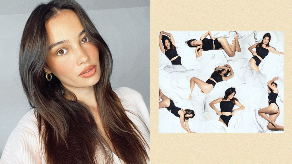 OMG! Kelsey Merritt Modeled for Kim Kardashian's Shapewear Line