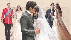 17 Celebrities Who Wore Long-sleeved Wedding Dresses