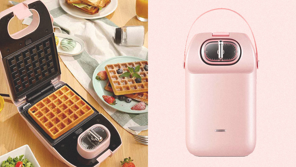 This Cute Appliance Lets You Make Waffles, Doughnuts, And More
