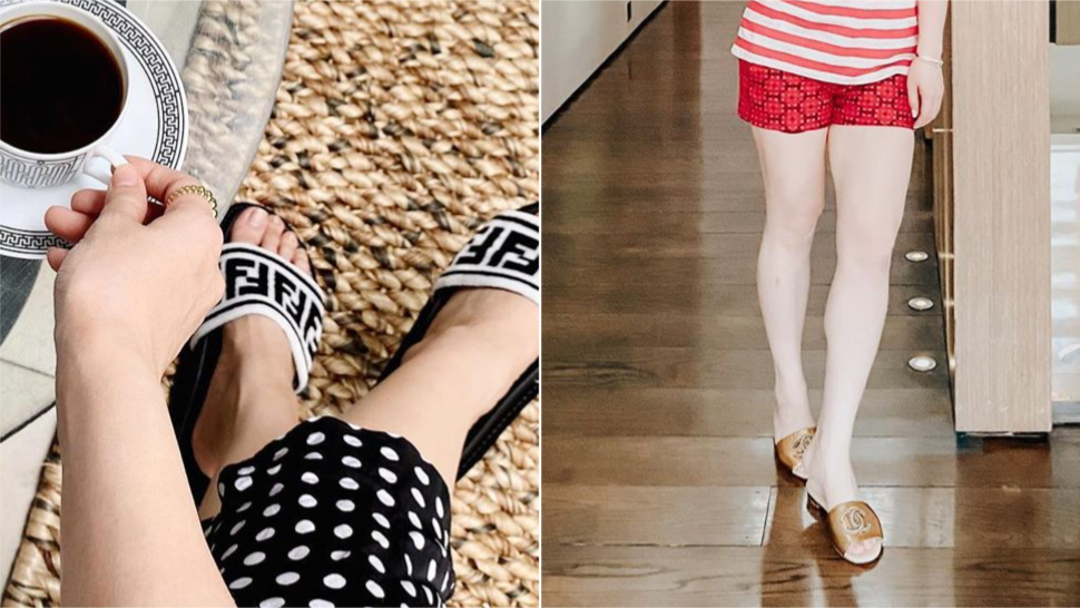 All The Designer Pambahay Slippers Your Fave Local Celebs Love To Wear