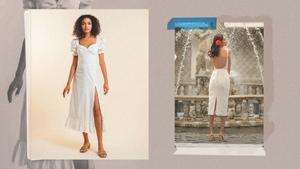 Elegant White Midi Dresses Under P5,000 For The Practical Bride