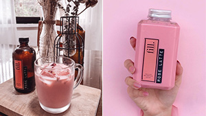 Coffee Lovers, You Have To Try This Aesthetic Pink Latte!