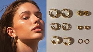 10 Local Online Stores That Sell Minimalist Hoop Earrings